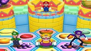 Mario Party 6 Mini Games - Mario Vs Luigi, Waluigi, Wario (Master CPU)