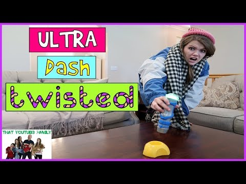 CRAZY FUN ULTRA DASH GAME WITH A TWIST - FAMILY GAME NIGHT / That YouTub3 Family