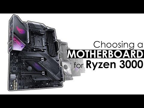 Motherboard Guide For Ryzen 3000 - X570, X470 & B450