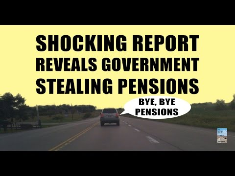 SHOCKING Report Reveals Government STEALING Pension Funds!
