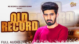 Old Record | New Haryanvi Song 2020 | Ravi Sharma | Latest Haryanvi Songs