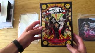 Deadman Wonderland DVD Limited Edition unboxing/kibontás