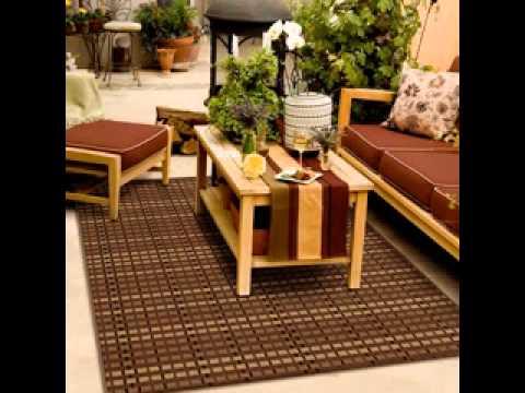 Outdoor patio rugs ideas - YouTube