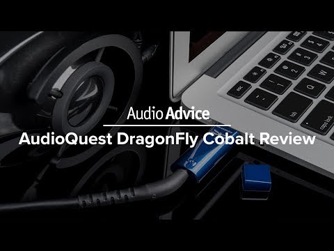 BRAND NEW: AudioQuest DragonFly Cobalt USB DAC and Headphone Amp Review
