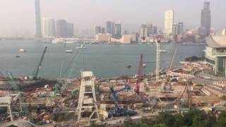 TIME LAPSE: Busy Day at the Harbour in Hong-Kong (Wan Chai)