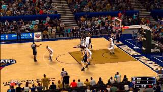 nba 2k14 new orleans pelicans vs brooklyn nets hd game play