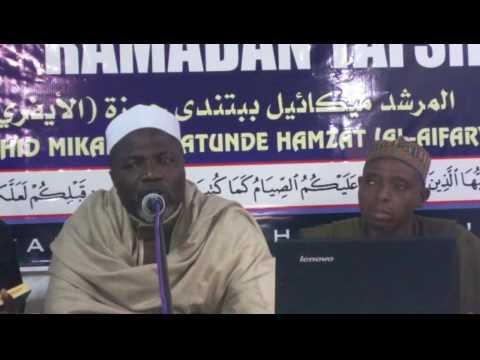 Download DAY 24 RAMADAN TAFSEER BY MURSHID MIKAIL BABATUNDE HAMZAT AIFARI TOPIC ITAN ANABI ADAM PART 3