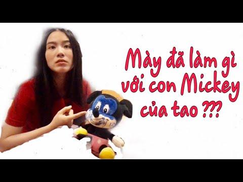 Trợ lý vẽ bậy lên mặt con Mickey mà Linh Miu thích nhất- Linh Miu nổi trận lôi đình  Linh Miu's Life