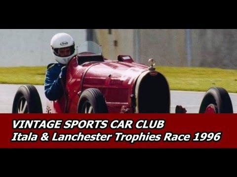 itala lanchester trophy race 1996 vintage sports car. Black Bedroom Furniture Sets. Home Design Ideas