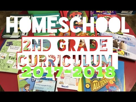 Homeschool Curriculum for 2nd Grade ! Our picks for 2017-2018