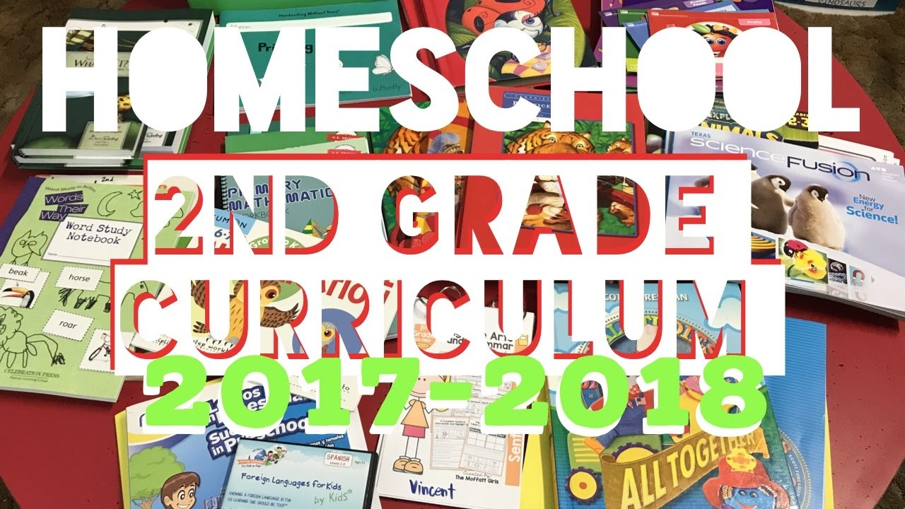 Homeschool Curriculum For 2nd Grade Our Picks For 2017 2018 Youtube
