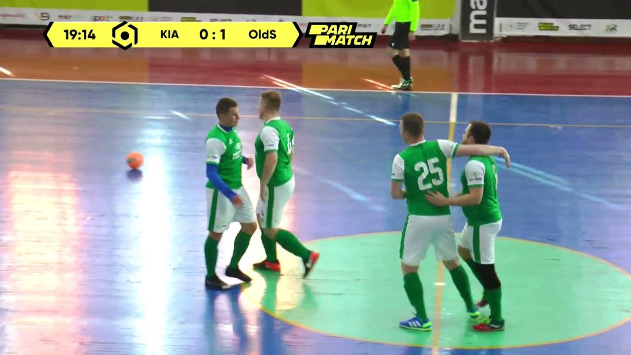 Огляд матчу   МФК KIA-SPORT 1 : 1 Old Sсhool