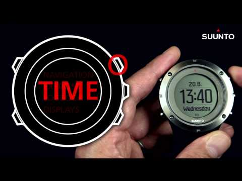 Suunto Ambit3 - Enable and disable main displays