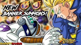 TRUNKS & VEGETA ARRIVE IN LEGENDS!! | GUARANTEED TICKET!? | DRAGON BALL LEGENDS