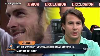 ¿Qué piensa el VESTUARIO del REAL MADRID de la salida de BALE? | Exclusiva de Juanfe Sanz