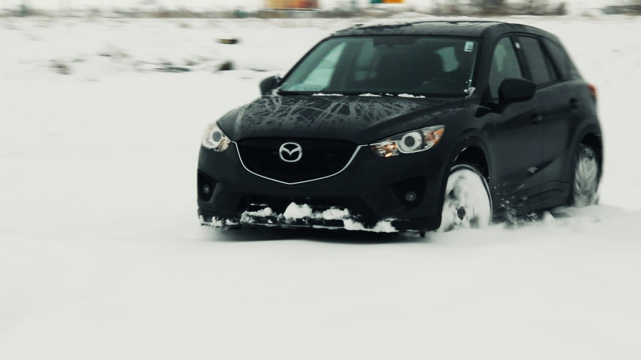 New 2014 Mazda Cx 5 2 5l Review Snow Test Off Road With 0