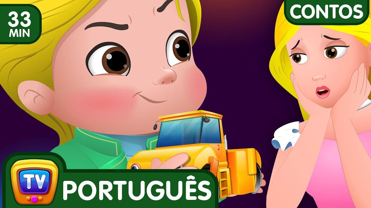 A Petulancia De Cussly (Coleção) - Histórias De Ninar | ChuChu TV Contos Infantis
