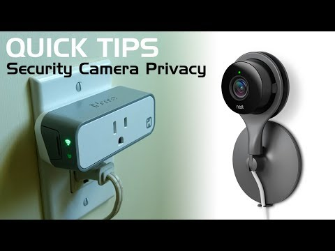 Home Security Camera Privacy...Solved with Smart Plugs!