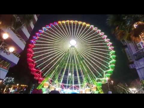 La Noria ilumina la Navidad en Vigo
