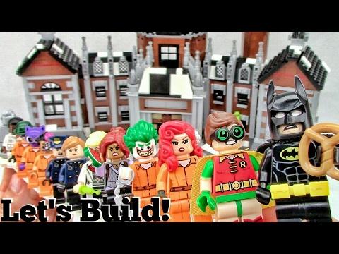 THE LEGO BATMAN MOVIE: Arkham Asylum 70912 - Let's Build! Part 3