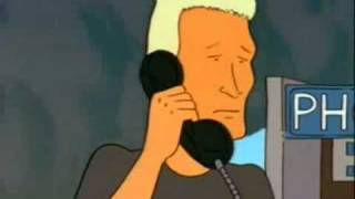 Boomhauer calls 911 (King Of The Hill)