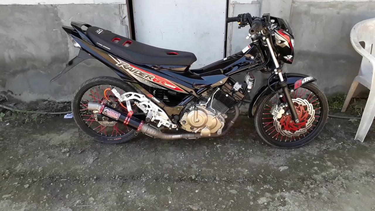 Vmax Exhaust For Raider 150  All Stock!!!  Charles Ivor Pajarillo 01:44 HD