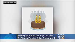 Study: Pennsylvania Among Top 10 States To Live After Retirement