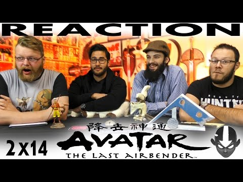 "Avatar: The Last Airbender 2x14 REACTION!! ""City of Walls and Secrets"""
