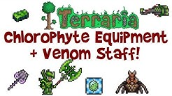 Chlorophyte Armor, Tools & Weapons, Venom Staff and more! (Terraria 1.3 PC Let's Play/Guide #32)