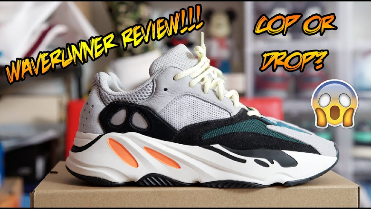 197b1f5a153 ADIDAS YEEZY BOOST 700 WAVE RUNNER REVIEW YouTube