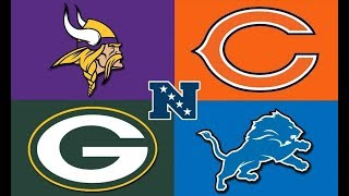 Who's winning the division!? NFC North Breakdown with Vikings fan John Parie