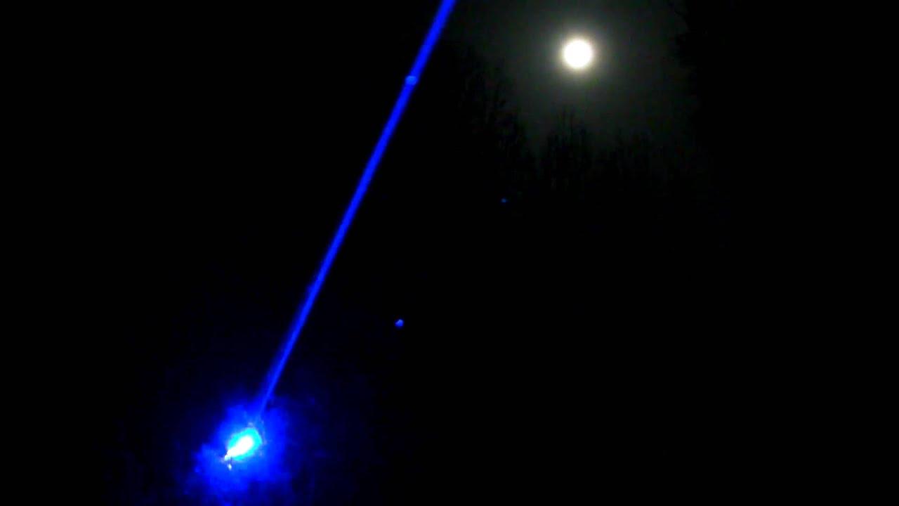 1w Blue Laser Diagram Onan Transfer Switch Wiring Vs Moon At Night Youtube