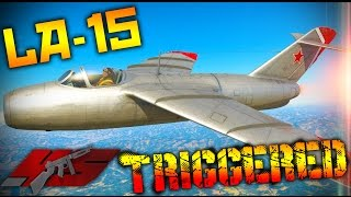 ▶ War Thunder : The La-15!! TRIGGERED!!