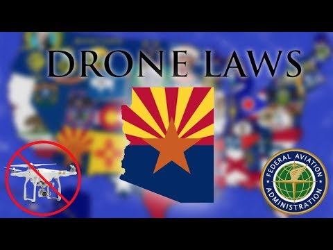 Where Can I Fly in Arizona? - Every Drone Law 2019 - Phoenix, Scottsdale, and Sedona (Episode 3)