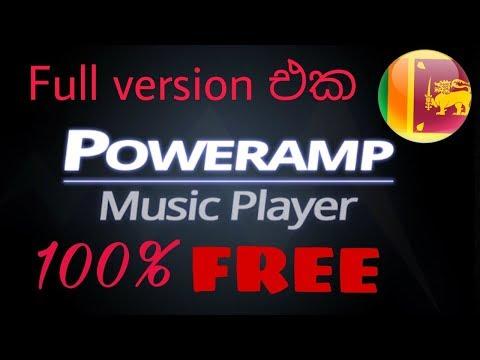 Poweramp Full Version Free - Sinhala 🇱🇰