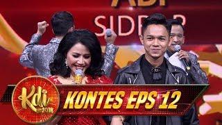 Asyikk! Abi Ayangnya Bunda Rita Sugiarto Nih - Kontes KDI Eps 12 (21/8)