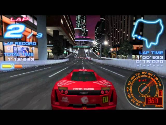 [PSP]Ridge Racer 2-Downtown Rave City