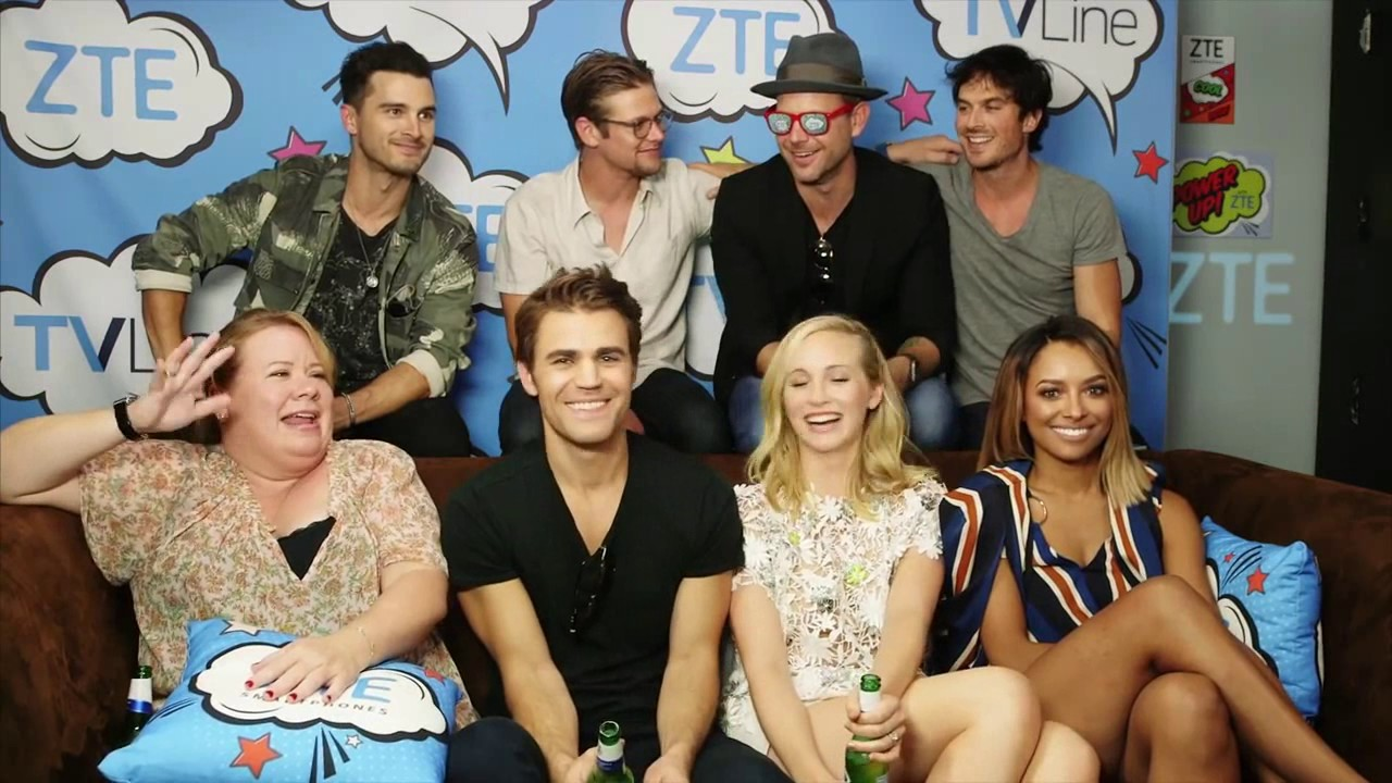 The Vampire Diaries Cast Funny&Cute Moments 2