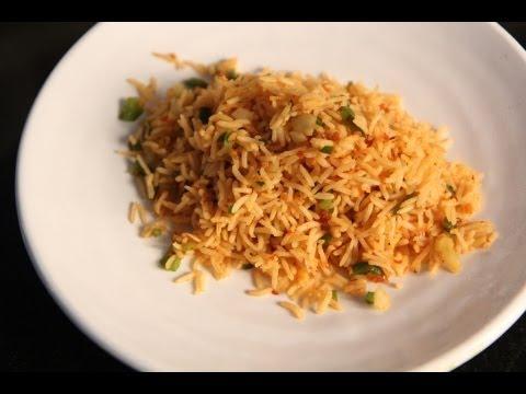 Shezwan fried rice recipe