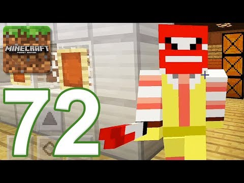 Minecraft: PE - Gameplay Walkthrough Part 72 - Mcdonald Mystery (iOS, Android)
