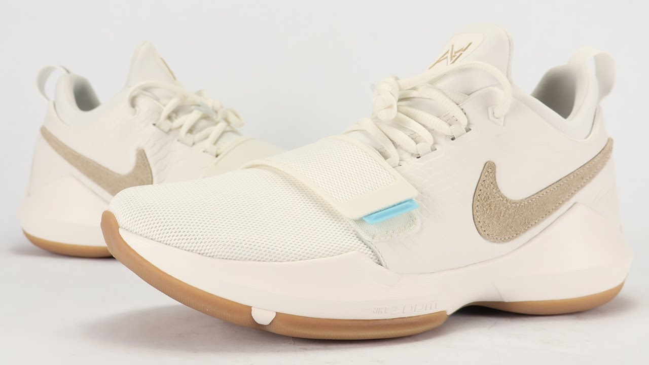 a43d93cdb19 Nike PG 1 Ivory Summer Pack Review + On Feet - YouTube