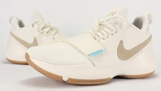 nike pg 1 ivory summer pack review on feet