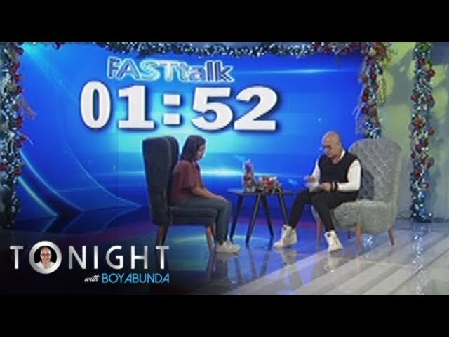 TWBA: Fast Talk with Donna Cariaga