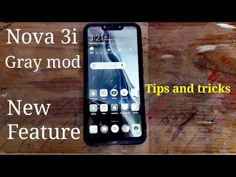 Nova 3i All Huawei Devices Grey Screen Mod Android Pie Feature