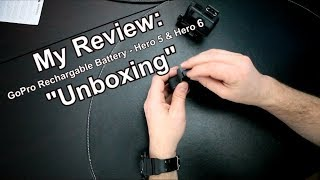 MY REVIEW | Unboxing a GoPro Rechargeable Battery for Hero 5 & Hero 6