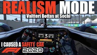 F1 2020 REALISM MODE - RUSSIA (NO HUD + TRACKIR + 100% RACE + COCKPIT + NO ASSISTS)