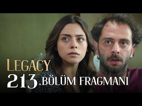 Emanet 213. Bölüm Fragmanı | Legacy Episode 213 Promo