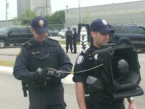 """LRAD"" Is A Long Range Acoustic Device For Safe Communication-G20 @TorontoPolice"