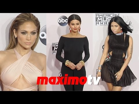 Selena Gomez, Nicki Minaj, Jennifer Lopez, One Direction 2014 American Music Awards