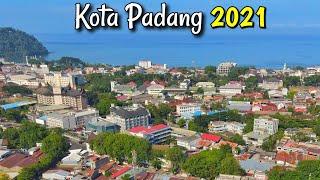 Download lagu Video Udara Kota Padang 2021   Kota Terbesar di Pantai Barat Sumatra